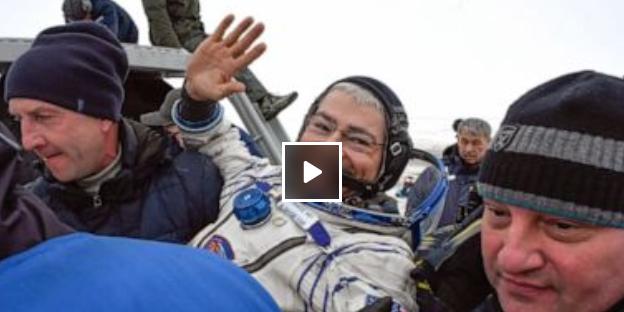 下个月发射升空的美国宇航员可能要在太空度过一年
