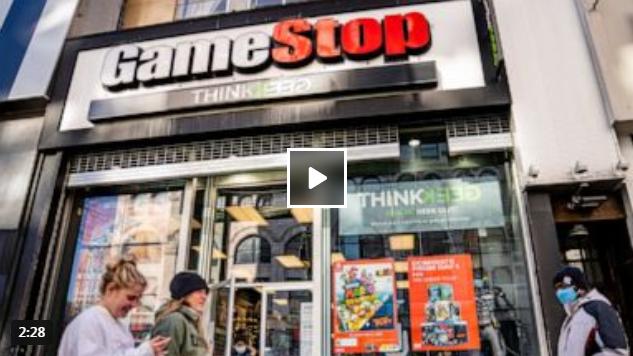 在股市疯狂推高股价后,GameStop将抛售350万股