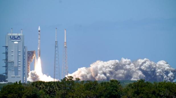 美国太空部队导弹预警卫星将火箭送入轨道