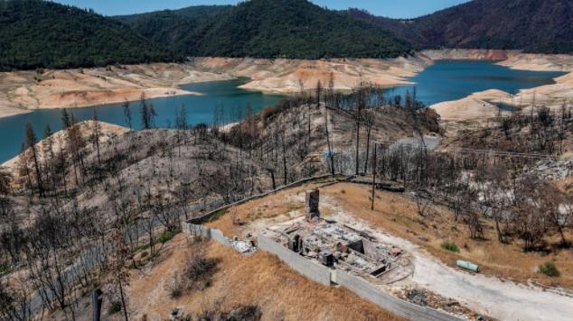 干旱侵蚀了加州的水库,炎热干燥的夏季即将来临