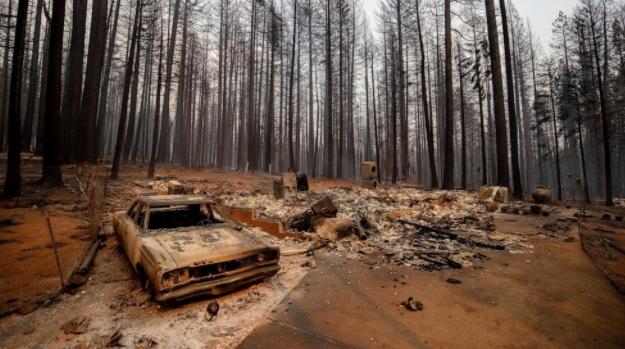 火灾危害加州遏制气候变化的努力